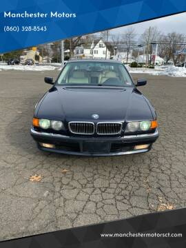 1999 BMW 7 Series for sale at Manchester Motors in Manchester CT