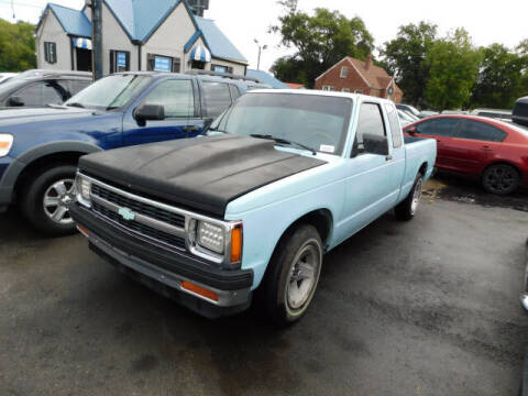 1991 Chevrolet S-10 for sale at WOOD MOTOR COMPANY in Madison TN