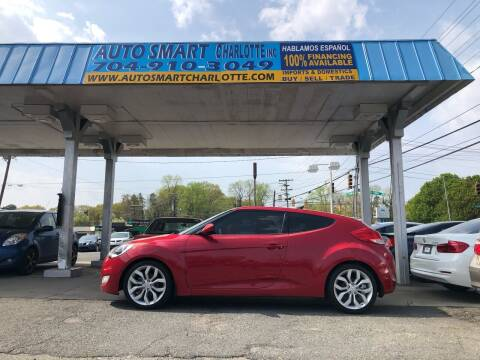 2013 Hyundai Veloster for sale at Auto Smart Charlotte in Charlotte NC