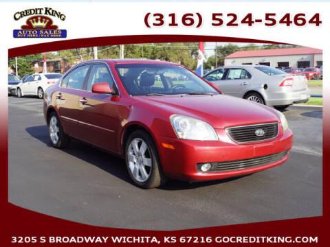 2008 Kia Optima for sale at Credit King Auto Sales in Wichita KS
