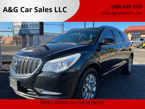 2013 Buick Enclave for sale at A&G Car Sales  LLC in Tucson AZ