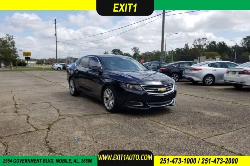 2014 Chevrolet Impala for sale at Exit 1 Auto in Mobile AL