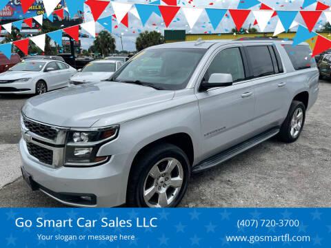 2016 Chevrolet Suburban for sale at Go Smart Car Sales LLC in Winter Garden FL