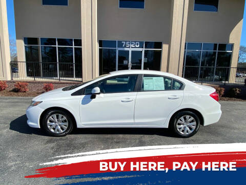 2012 Honda Civic for sale at Autoxport in Newport News VA