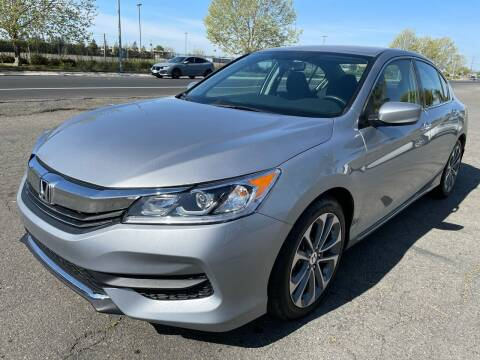 2017 Honda Accord for sale at Moun Auto Sales in Rio Linda CA