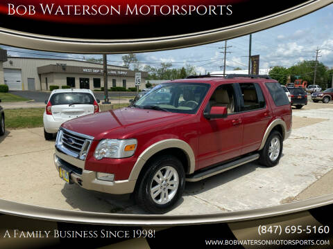 2010 Ford Explorer for sale at Bob Waterson Motorsports in South Elgin IL