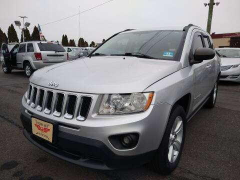 2012 Jeep Compass for sale at P J McCafferty Inc in Langhorne PA