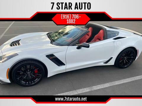 2015 Chevrolet Corvette for sale at 7 STAR AUTO in Sacramento CA