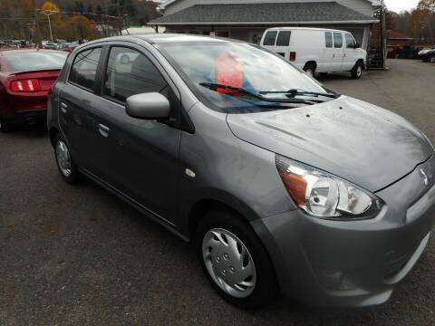 2015 Mitsubishi Mirage for sale at Automotive Toy Store LLC in Mount Carmel PA