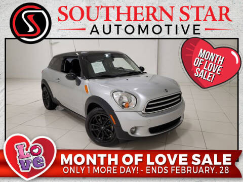 2015 MINI Paceman for sale at Southern Star Automotive, Inc. in Duluth GA