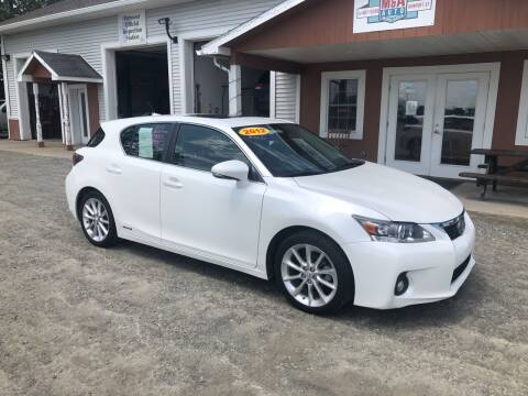 2012 Lexus CT 200h for sale at M&A Auto in Newport VT