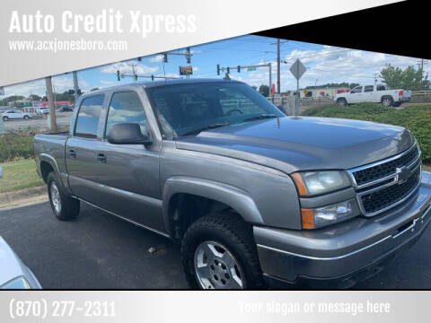 2006 Chevrolet Silverado 1500 for sale at Auto Credit Xpress - Jonesboro in Jonesboro AR