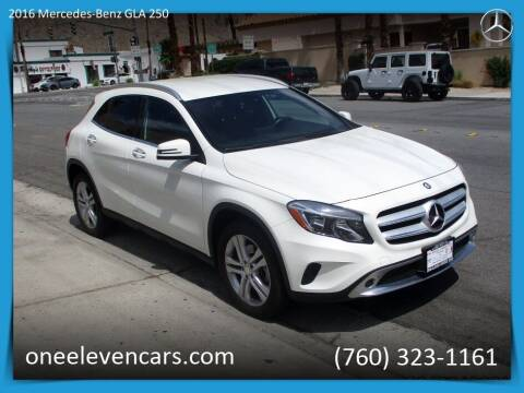 2016 Mercedes-Benz GLA for sale at One Eleven Vintage Cars in Palm Springs CA