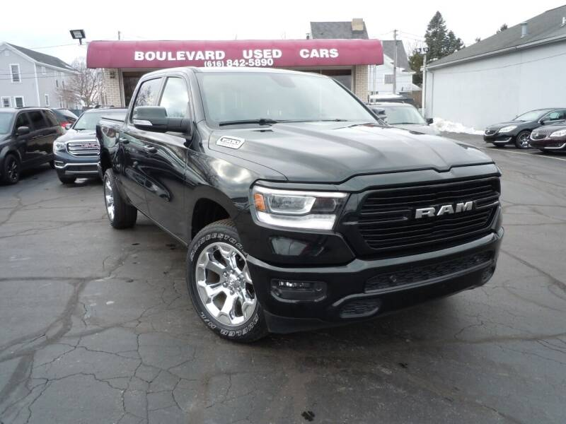 2019 RAM Ram Pickup 1500 for sale at Boulevard Used Cars in Grand Haven MI