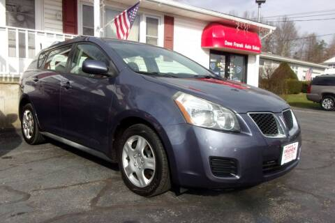 2009 Pontiac Vibe for sale at Dave Franek Automotive in Wantage NJ