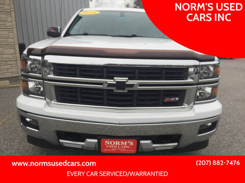 2015 Chevrolet Silverado 1500 for sale at NORM'S USED CARS INC in Wiscasset ME