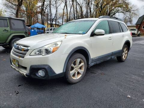 2014 Subaru Outback for sale at AFFORDABLE IMPORTS in New Hampton NY
