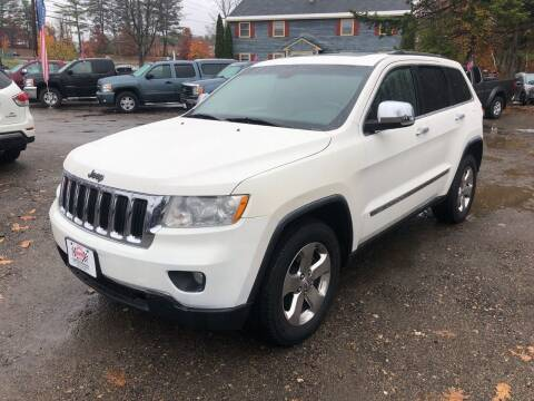2011 Jeep Grand Cherokee for sale at Winner's Circle Auto Sales in Tilton NH