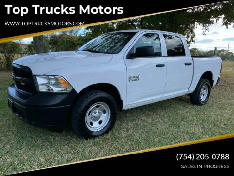 2018 RAM Ram Pickup 1500 for sale at Top Trucks Motors in Pompano Beach FL