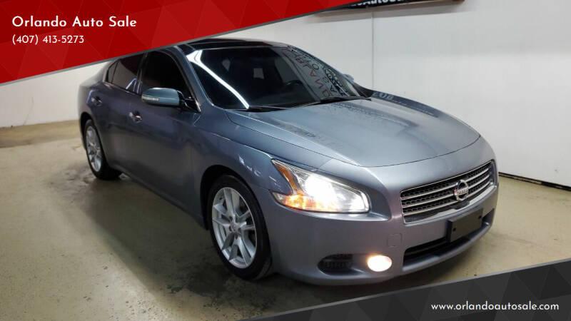 2011 Nissan Maxima for sale at Orlando Auto Sale in Orlando FL