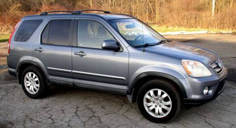 2005 Honda CR-V for sale at Angelo's Auto Sales in Lowellville OH