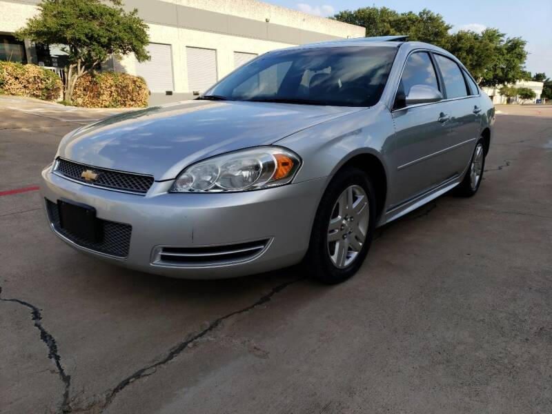 2014 Chevrolet Impala Limited for sale at ZNM Motors in Irving TX