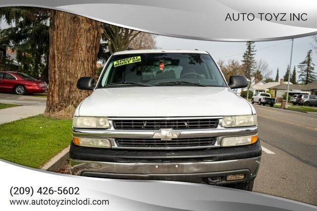 2003 Chevrolet Tahoe for sale at Auto Toyz Inc in Lodi CA