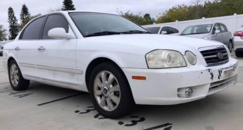 2005 Kia Optima for sale at Cobalt Cars in Atlanta GA