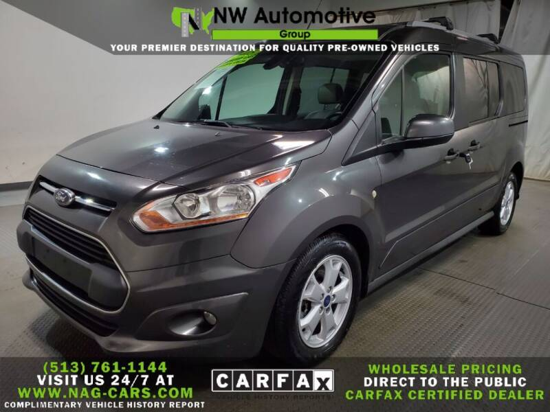 2015 Ford Transit Connect Wagon for sale at NW Automotive Group in Cincinnati OH