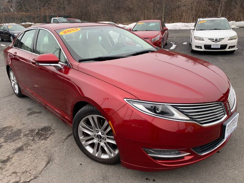 2013 Lincoln MKZ for sale at Bob Karl's Sales & Service in Troy NY