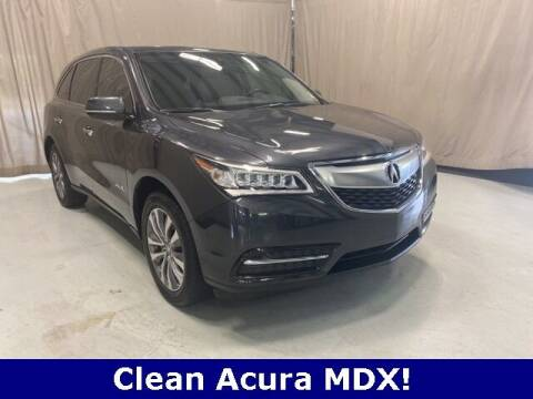 2014 Acura MDX for sale at Vorderman Imports in Fort Wayne IN