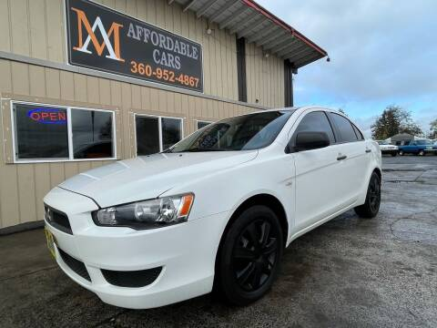 2009 Mitsubishi Lancer for sale at M & A Affordable Cars in Vancouver WA