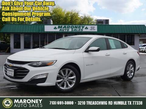2020 Chevrolet Malibu for sale at Maroney Auto Sales in Humble TX
