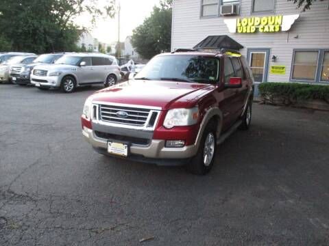 2008 Ford Explorer for sale at Loudoun Used Cars in Leesburg VA