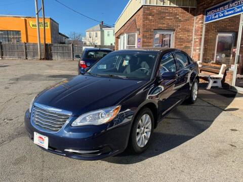 2013 Chrysler 200 for sale at Michaels Motor Sales INC in Lawrence MA