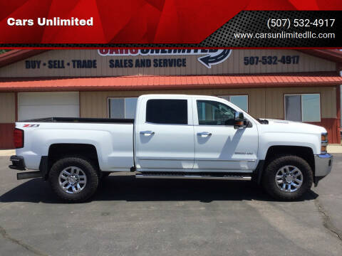 2016 Chevrolet Silverado 3500HD for sale at Cars Unlimited in Marshall MN