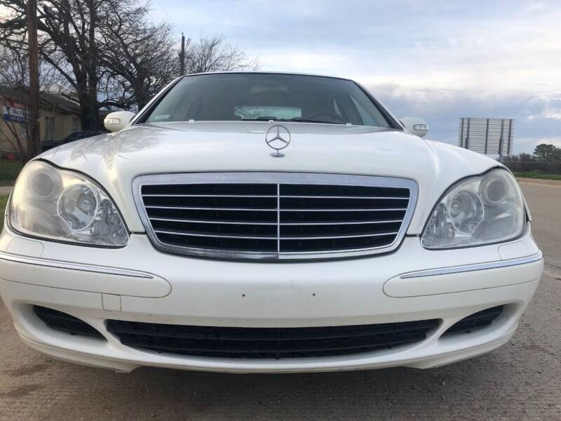 2004 Mercedes-Benz S-Class for sale at Car Super Center in Fort Worth TX