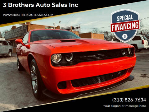2020 Dodge Challenger for sale at 3 Brothers Auto Sales Inc in Detroit MI