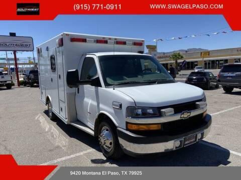2013 Chevrolet Express Cutaway for sale at SOUTHWEST AUTO GROUP-EL PASO in El Paso TX