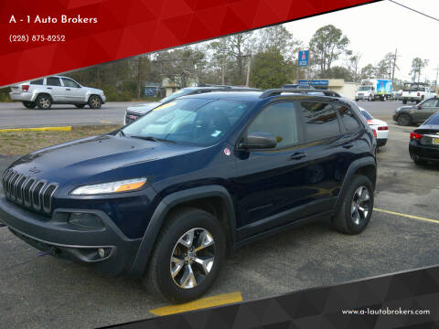2014 Jeep Cherokee for sale at A - 1 Auto Brokers in Ocean Springs MS