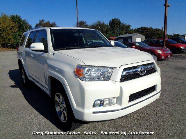 2013 Toyota 4Runner for sale at Gary Simmons Lease - Sales in Mckenzie TN