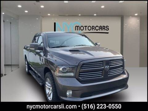 2017 RAM Ram Pickup 1500 for sale at NYC Motorcars in Freeport NY