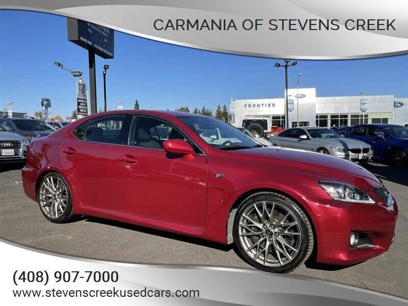 2011 Lexus IS F for sale at Carmania of Stevens Creek in San Jose CA