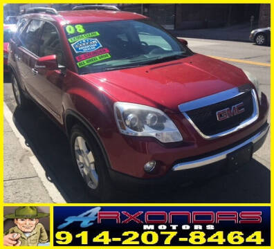 2008 GMC Acadia for sale at ARXONDAS MOTORS in Yonkers NY