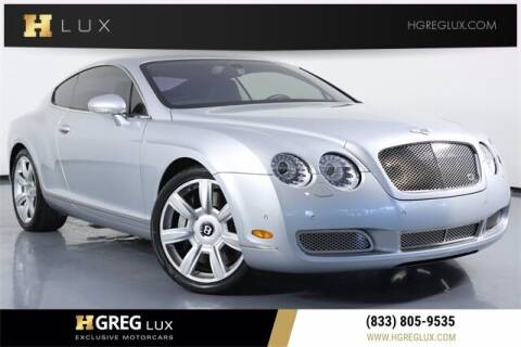 2004 Bentley Continental for sale at HGREG LUX EXCLUSIVE MOTORCARS in Pompano Beach FL