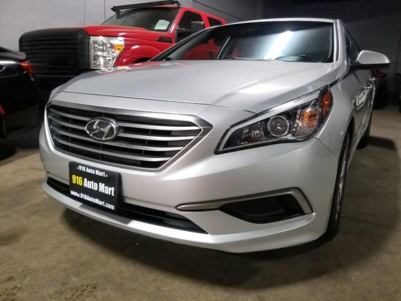 2017 Hyundai Sonata for sale at 916 Auto Mart ONLY $399 DOWN!!!* in Sacramento CA