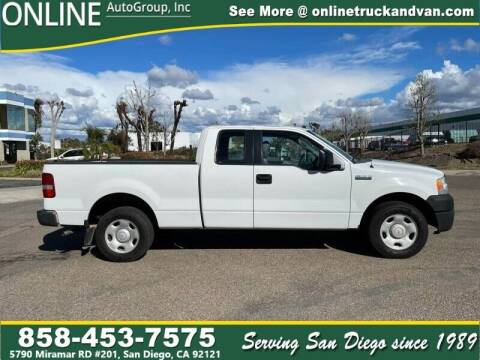 2005 Ford F-150 for sale at Online Auto Group Inc in San Diego CA
