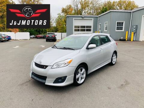 2009 Toyota Matrix for sale at J & J MOTORS in New Milford CT