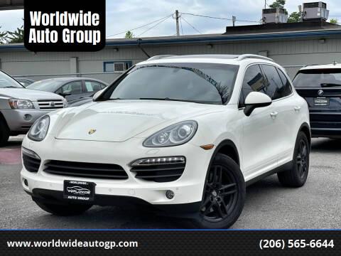 2012 Porsche Cayenne for sale at Worldwide Auto Group in Auburn WA