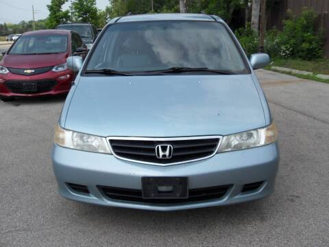 2003 Honda Odyssey for sale at GLOBAL AUTOMOTIVE in Grayslake IL